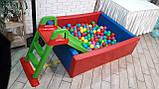 Сухий басейн з кульками Kidigo 1,5*1,2, фото 3