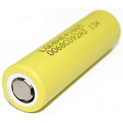 Высокотоковый аккумулятор LG HE4 2500 mAh 20A (30A)