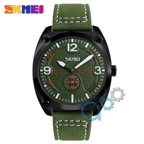 Наручные мужские часы Skmei 9155 Green-Black