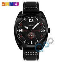 Наручные мужские часы Skmei 9155 All Black-White