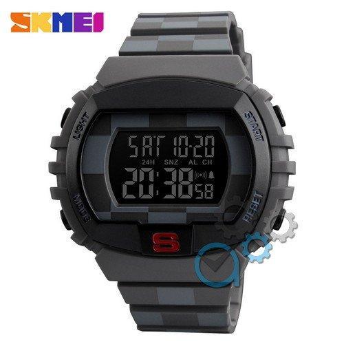 Наручные мужские часы Skmei 1304 Black-Brown