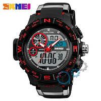 Наручные мужские часы Skmei 1332 Black-Red