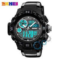 Наручные мужские часы Skmei 1332 Black-Gray