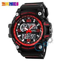 Наручные мужские часы Skmei 1283 Black-Red
