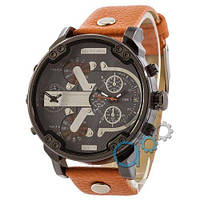 Наручные мужские часы Diesel DZ7314 Black-Gray-Orange Orange-Wristband