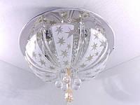 Люстра потолочная с цветной Led подсветкой и автоматическим отключением YR-19321/400, фото 1