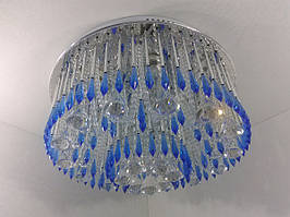 Люстра потолочная с цветной Led подсветкой и автоматическим отключением YR-3050/450