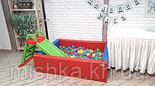 Сухой бассейн с шариками Kidigo 1,5*1,2