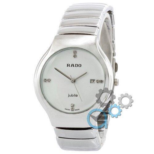 Наручные женские часы Rado B20 Silver-White-Cristal