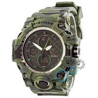 Наручные мужские часы Casio G-Shock Ferrari Dark-Green-Militari