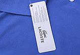 Lacoste 100% хлопок РАЗНЫЕ цвета мужская, женская футболка поло лакоста, фото 3