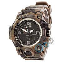 Наручные мужские часы Casio G-Shock GWG-1000 Brown-Militari