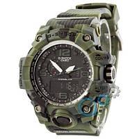 Наручные мужские часы Casio G-Shock GWG-1000 Green-Militari
