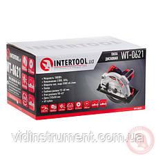 Пила дисковая Intertool WT-0621 (1800Вт, 210 диск), фото 3