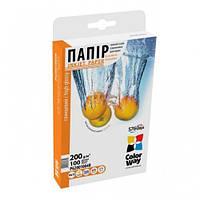 Папір 10*15 100л глянцевий 200г/м2 PG200-100 ColorWay