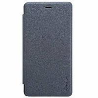 Чехол-Книжка NILLKIN для Xiaomi Redmi 3 Pro (3S) кожзам черный