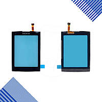 Тачскрин Nokia X3-02, цвет черный