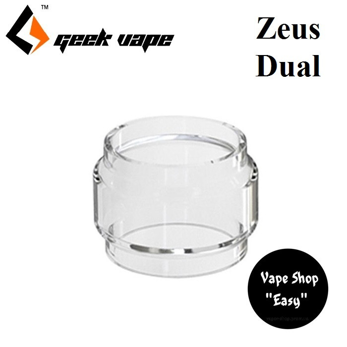 Колба стекло дутое GeekVape Zeus Dual  RTA Bubble Glass.