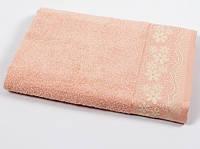 Полотенце махровое Binnur - Vip Cotton 11 50*90 персиковый