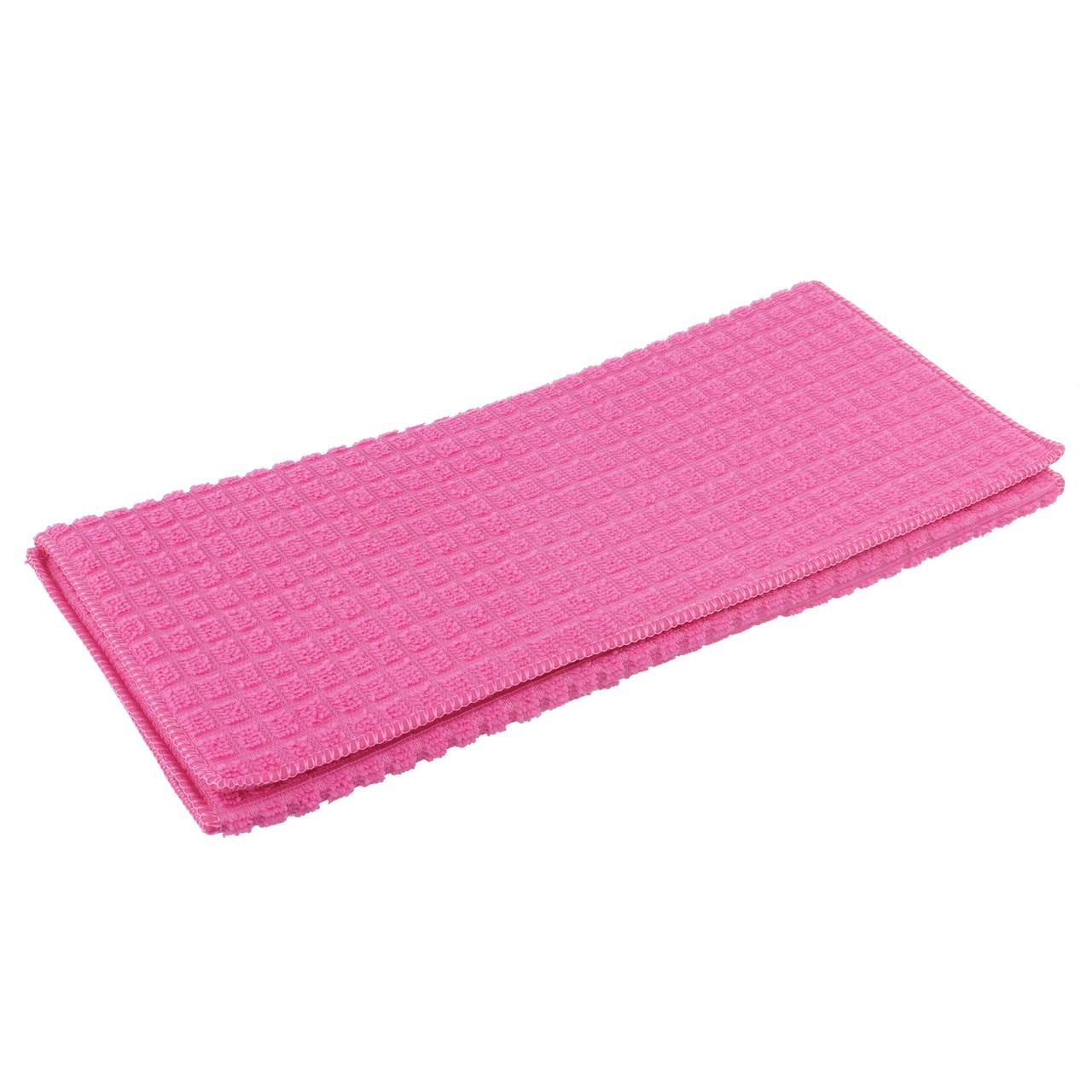 Коврик для сушки посуды 38Х51 см розовый