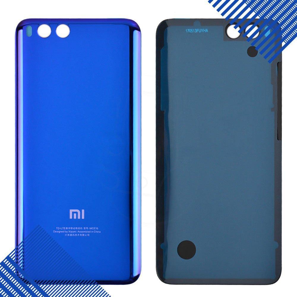 Задняя крышка Xiaomi Mi6, цвет синий, оригинал