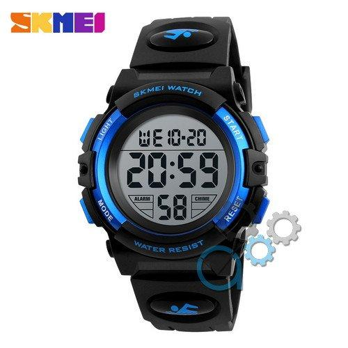 Наручные мужские часы Skmei 1266 Black-Blue