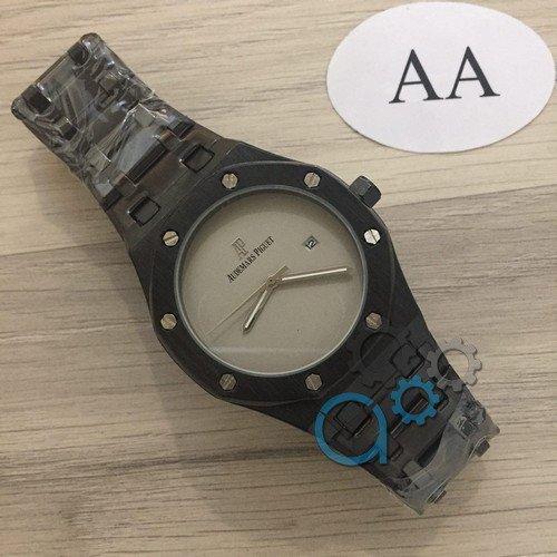 Наручные мужские часы Audemars Piguet Royal Oak Quartz 1450 Black-Gray