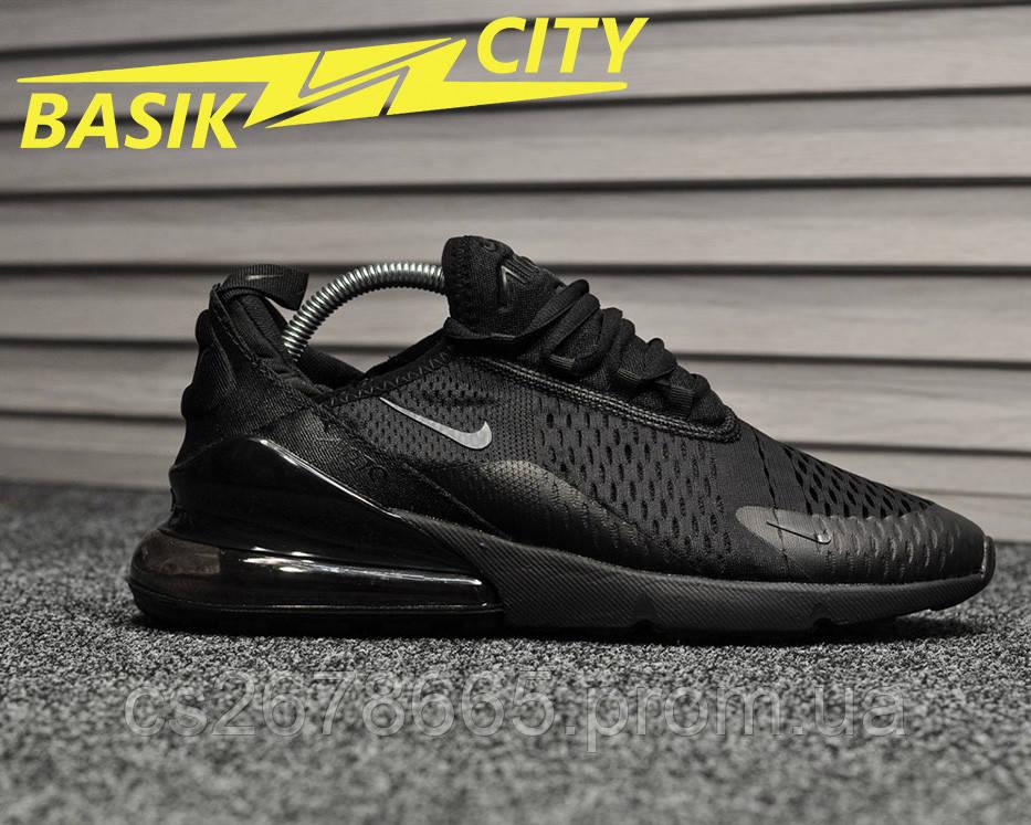 Мужские кроссовки Nike Air Max 270 Black 43 размер - 27.5см