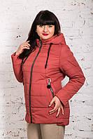 Женская куртка батал на весну модель 2019 - (кт-249), фото 1