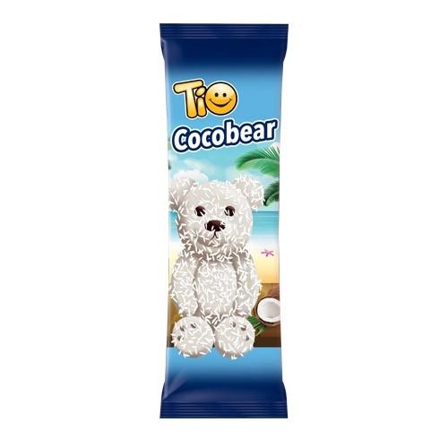 Бисквит в белом шоколаде Tio Cocobear 24 шт в уп/ 6 в ящ