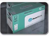 DemeLON Нейлон Монофиламент 1, 48 мм колющая игла 1/2 окружности, нить 100 см черная