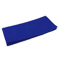 Килимок для сушіння посуду 38Х51 см синій, фото 1