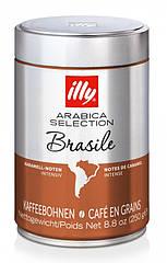Кава в зернах illy Brazil 250 гр. ж/б