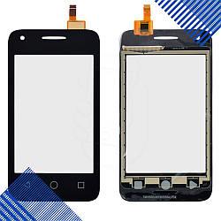 Тачскрин Alcatel 4009D One Touch Dual Sim, цвет черный