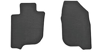 Коврики в салон резиновые передние для Mitsubishi L200 2015- Stingray (2шт)