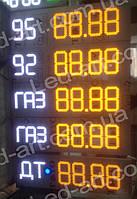 Светодиодное табло для АЗС LED-ART-Stela-310-19+, ценовой модуль для АЗС