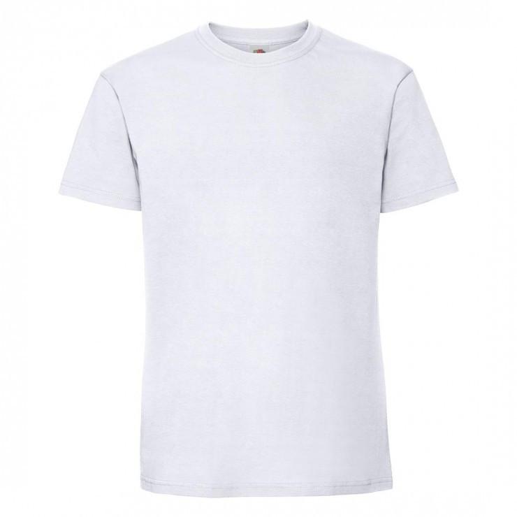 Мужская футболка плотная белая 422-30