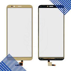 Тачскрин для Honor 7C Pro (LND-L29/LND-Al40/LND-TL40), цвет золотой