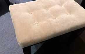 Пуф деревянный Классик Евродом, цвет орех, фото 2