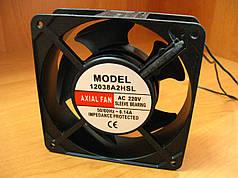 Вентилятор для сварочного аппарата 120х120х38 мм 220V