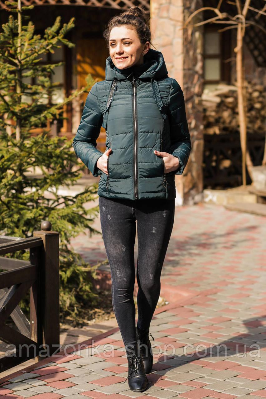 Модная женская куртка Amazonka - модель 2019 - (кт-437)