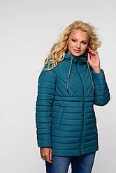 Женская весенняя куртка большого размера Элеонора   Nui Very (Нью вери)