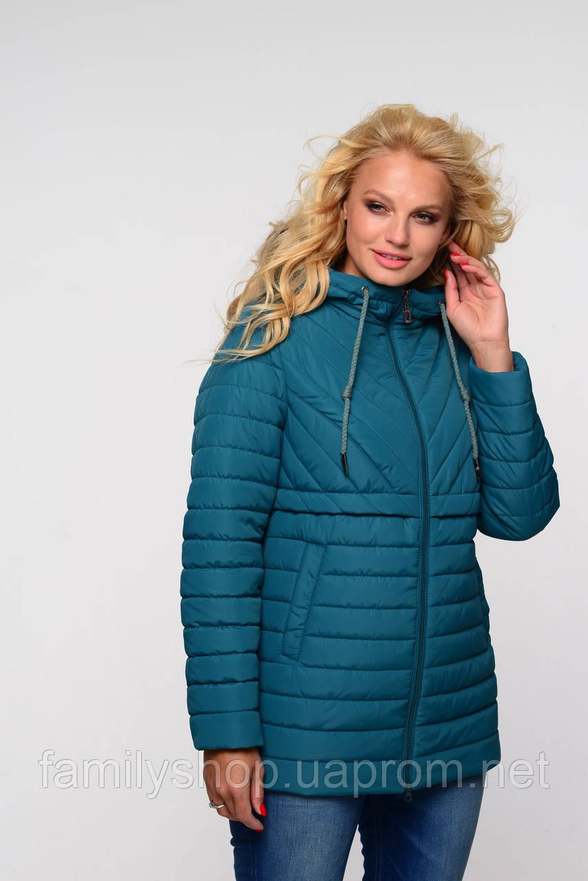 Женская осенняя куртка большого размера Элеонора   Nui Very (Нью вери)