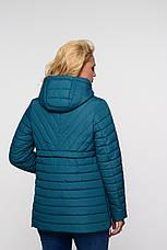 Женская осенняя куртка большого размера Элеонора   Nui Very (Нью вери), фото 2