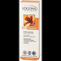 Logona Logona БИО-Крем для лица ночной для комбинированной кожи Гамамелис (40 мл)