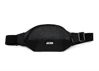 Поясная сумка Pattern Black с одним карманом