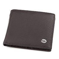 Мужской кошелек ST Leather 18304 (ST159) кожаный Коричневый, Коричневый