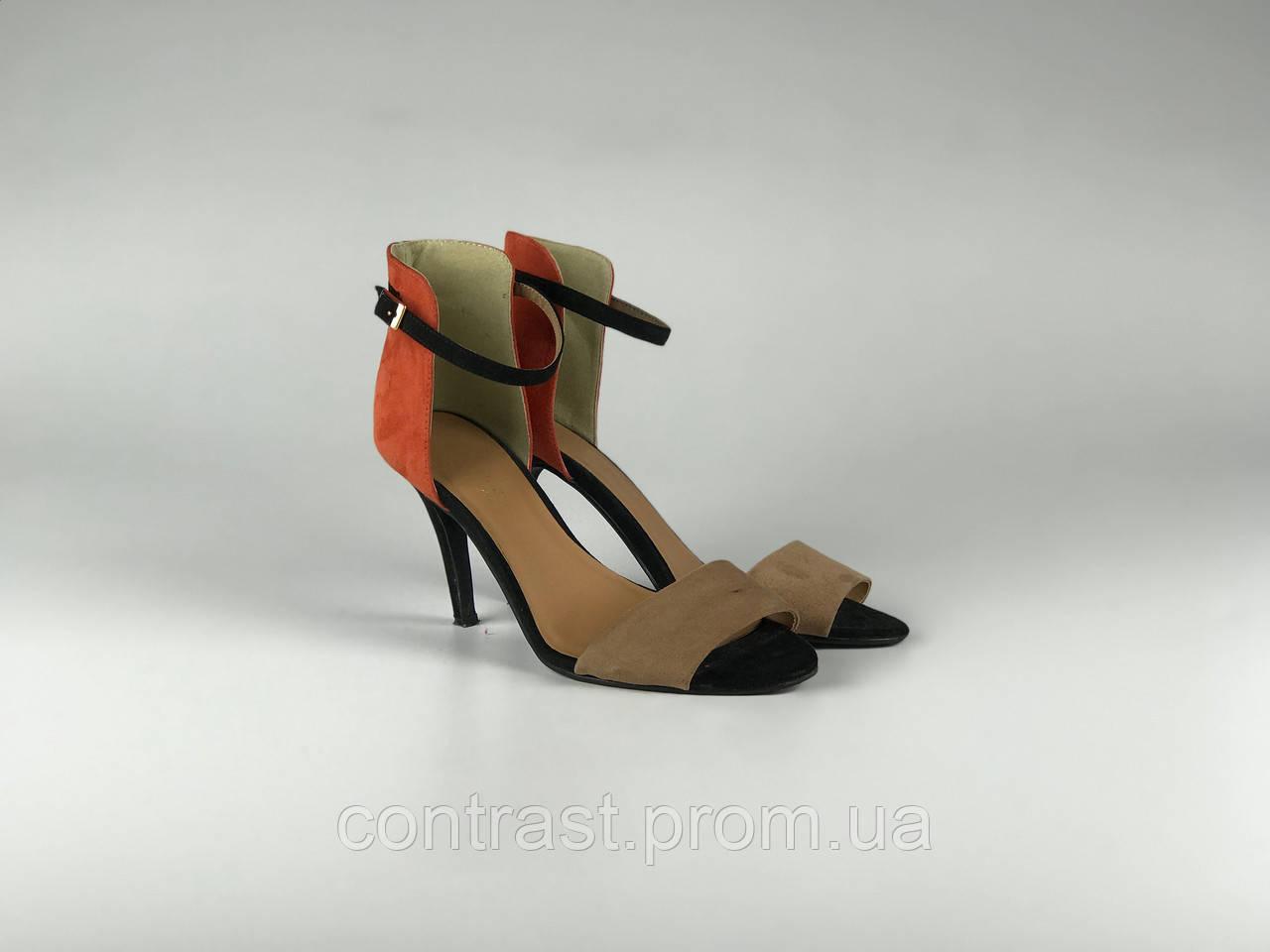 e36d5afa6 Комбинированные босоножки с застежкой на щиколотке SH1910100, цена 450  грн., купить в Днепре — Prom.ua (ID#913720258)