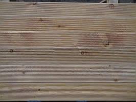 Террасная доска 27х142х4000 СОРТ АВ Сибирская лиственница, деревянный настил
