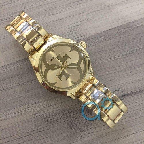 Наручные женские часы Guess 7222 GZM Gold